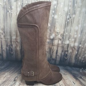 Fergalicious Brown Tall Boots Size 9
